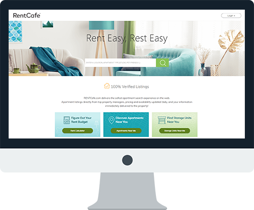 Find Your new Apartment on RENTCafe