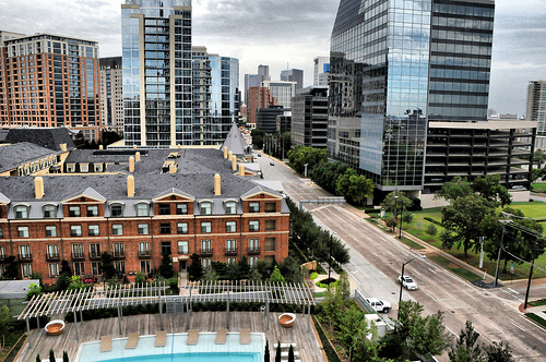 Uptown is one of Dallas' hottest neighborhoods.