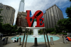 Love Park, Entryway to the Fairmount
