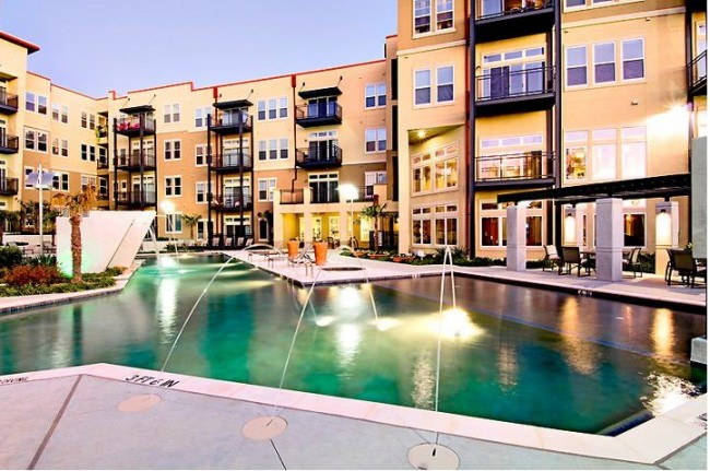 apartments with resort-style pool