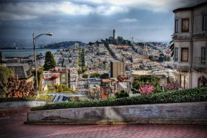A view of Russian Hill