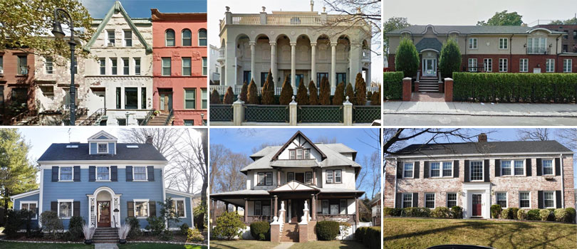215 Years of Home Architecture in NYC