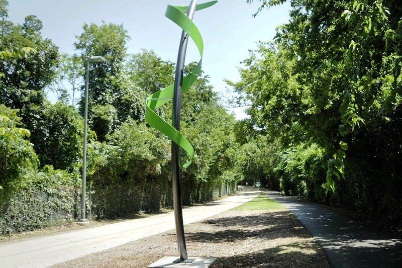 The Katy Trail in Uptown Dallas