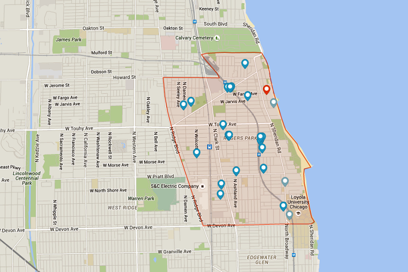 Apartments for Rent in Rogers Park Chicago via Rentcafe