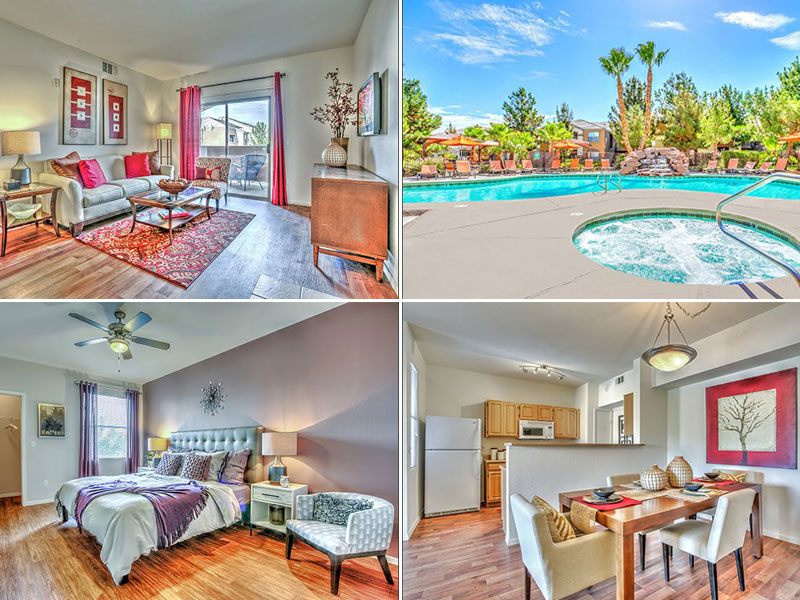 5 Apartments for Rent in Las Vegas Around $800/Month