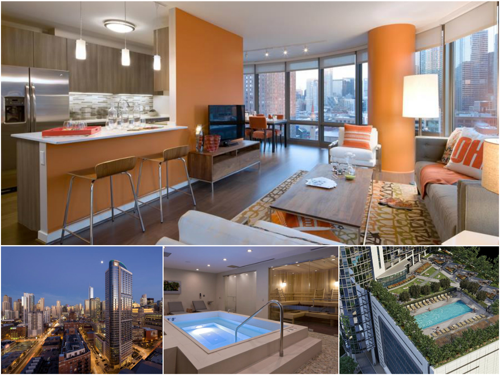 1 Bedroom Apartment at Hubbard Place in Chicago