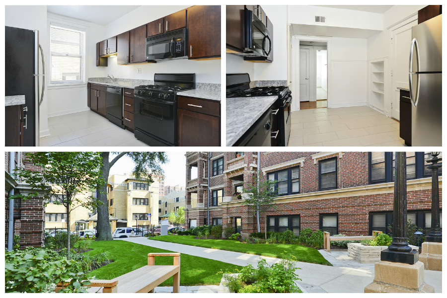Reside on Irving Park Apartments in Chicago's Lakeview neighborhood