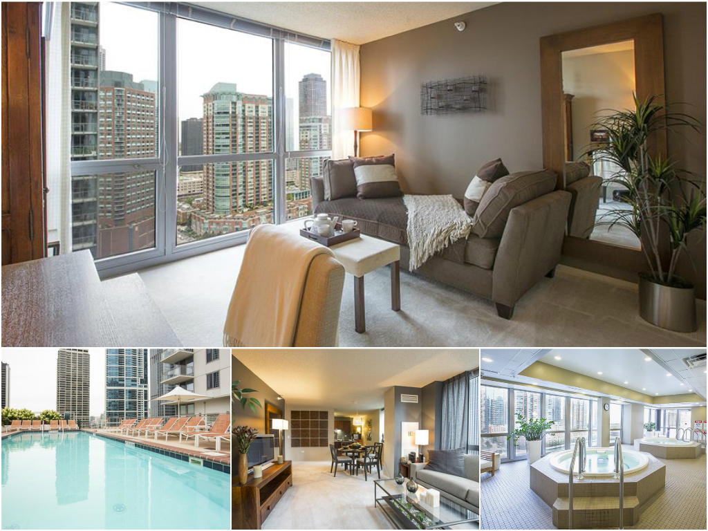 1 Bedroom Apartment at The Tides in Chicago