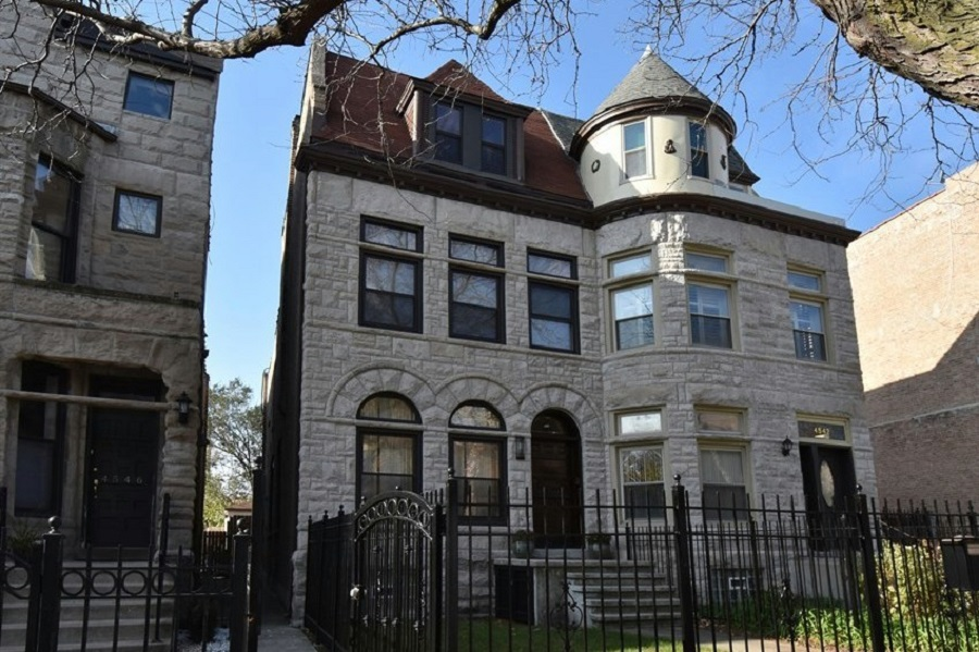 Kenwood Greystone for sale at 4544 S Lake Park Ave in Chicago