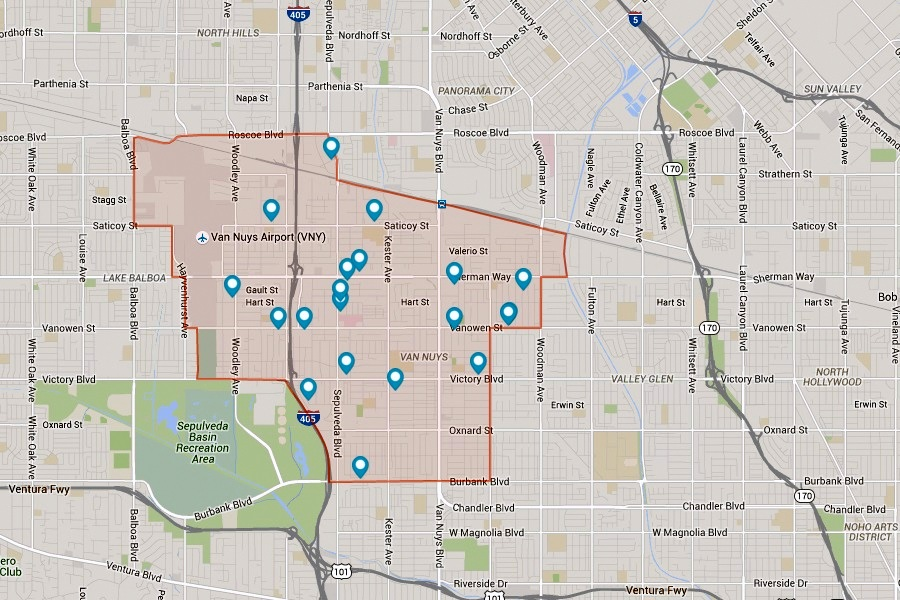 Van Nuys California Map Living in Van Nuys, Los Angeles: Where You can Enjoy the Glitzy LA