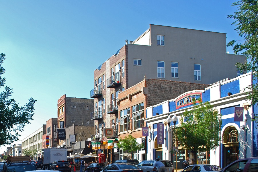 Wicker Park Historic District in Chicago IL