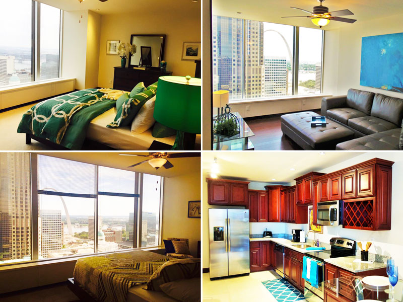 Gallery 720 at the Laclede Tower Apartments for rent