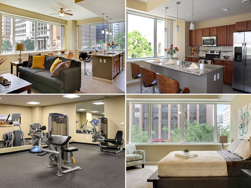 Residences at 1717 for rent in Cleveland