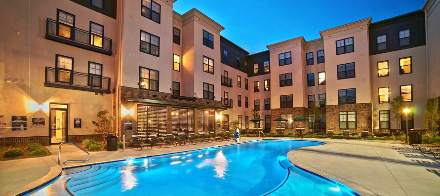 Largest rental developments completed in 2015 in St. Louis metro