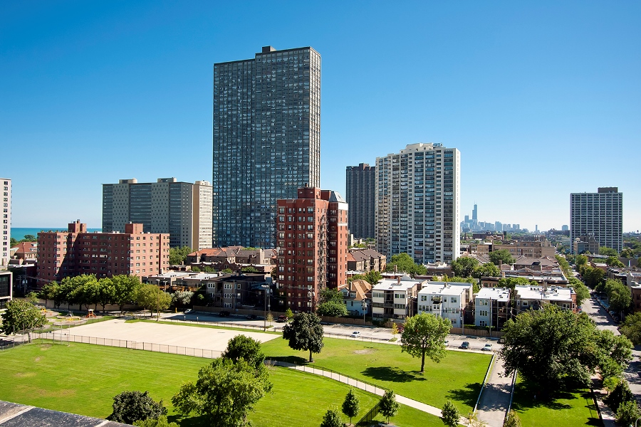 Views of the Buena Park neighborhood in Chicago
