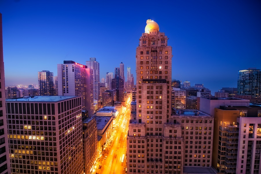 The Mag Mile in Chicago
