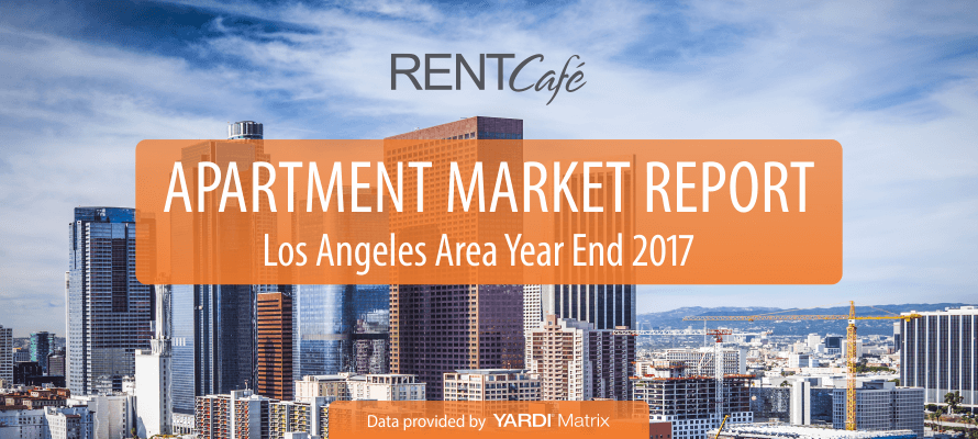 Los Angeles Area 2017 Year End Rent Report