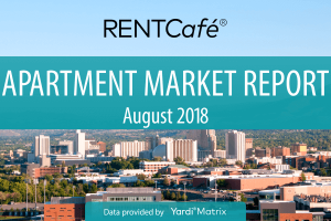 Rentcafe Monthly August 2018 Report