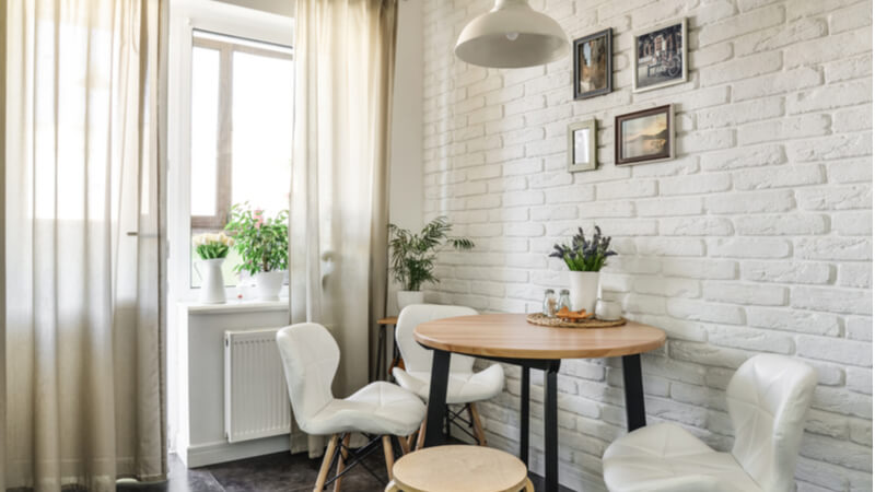 5 Clever Ways To Create A Dining Room In A Small Apartment Rentcafe Rental Blog