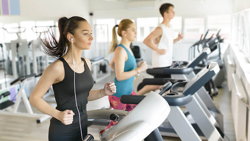 Fitness centers in apartment communities