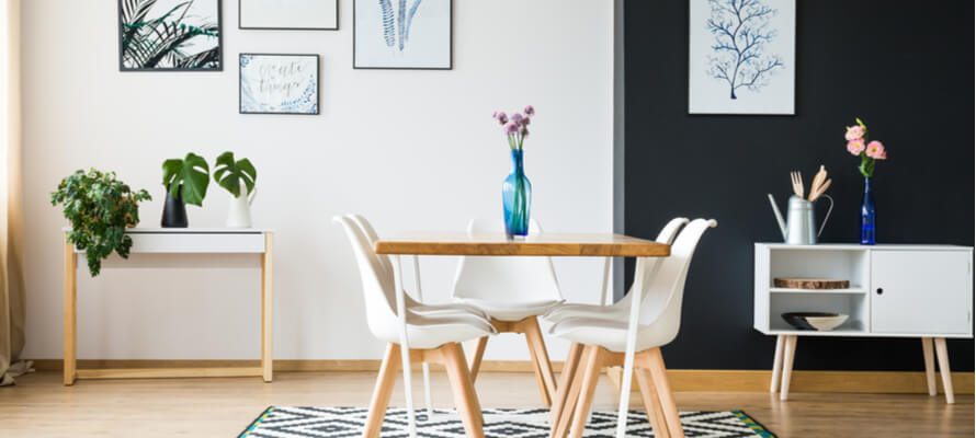 5 Clever Ways to Create a Dining Room in a Small Apartment