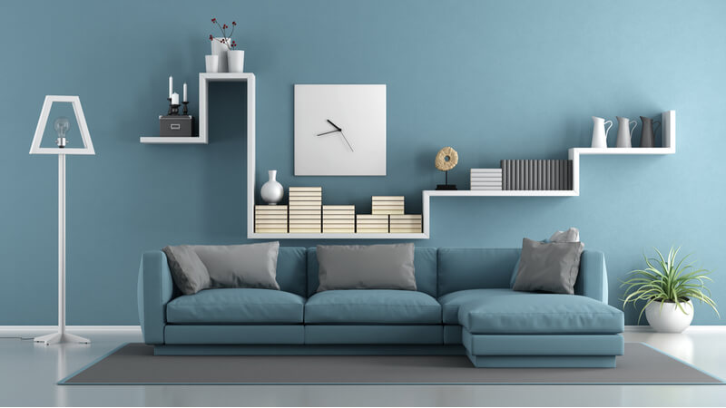 minimalist_display_in_living_room_couch_and_shelves