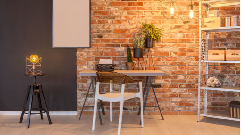 industrial_living_room_with_exposed brick