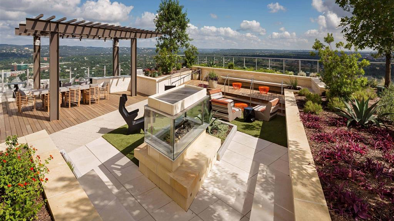 green space rooftop
