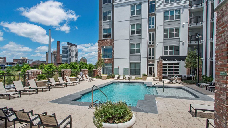 parkside apartments rooftop