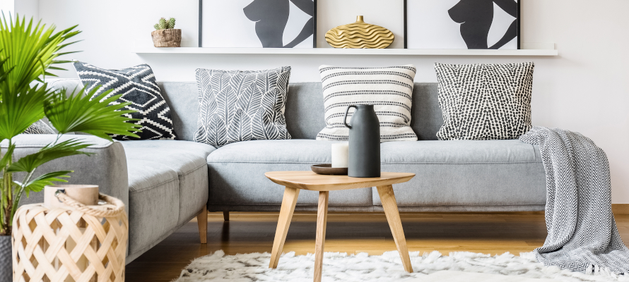 8 Small Living Room Design Ideas For Any Apartment Rentcafe Rental Blog