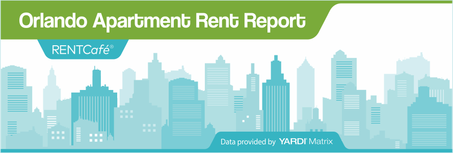 Orlando apartment rent report