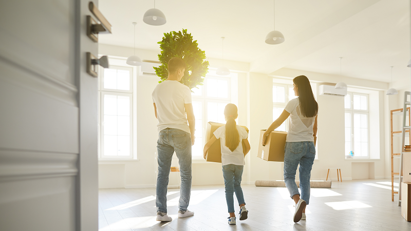 family moving out of state