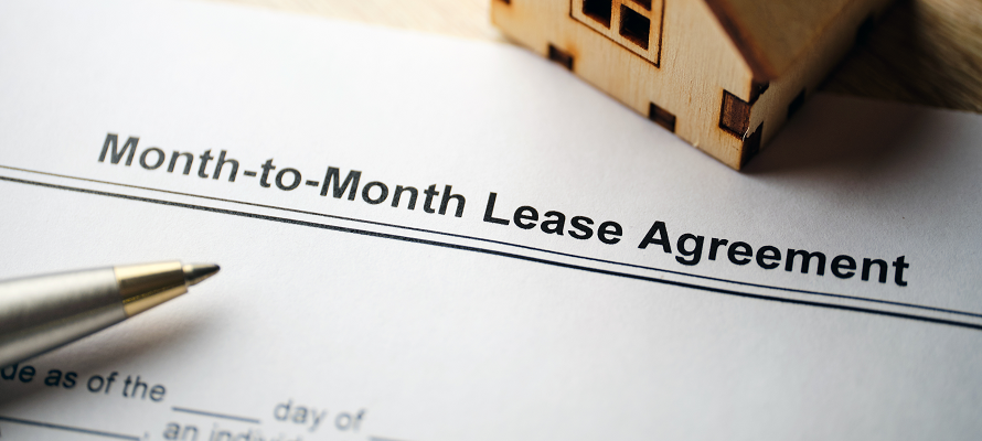 month to month agreement